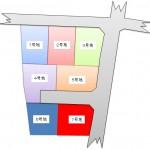 隼人町内区画図